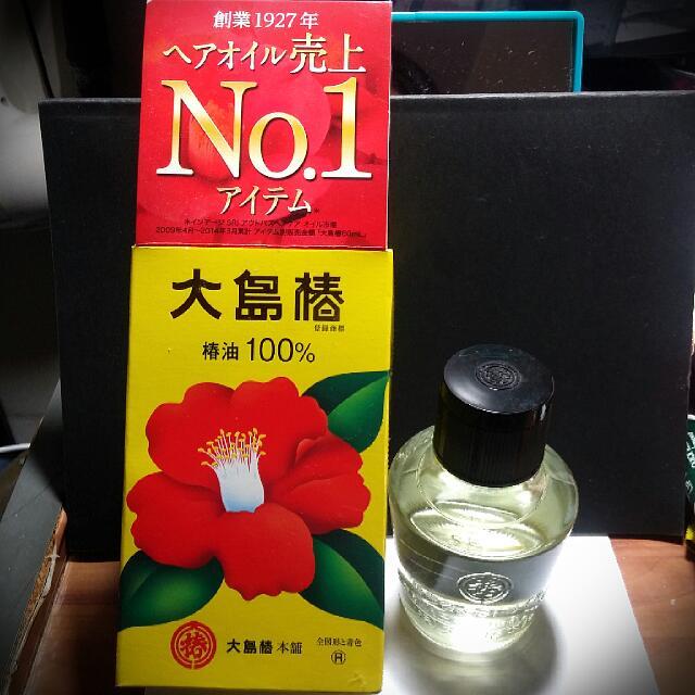 (保留)日製 大島椿 護髮油 60ml 日本帶回