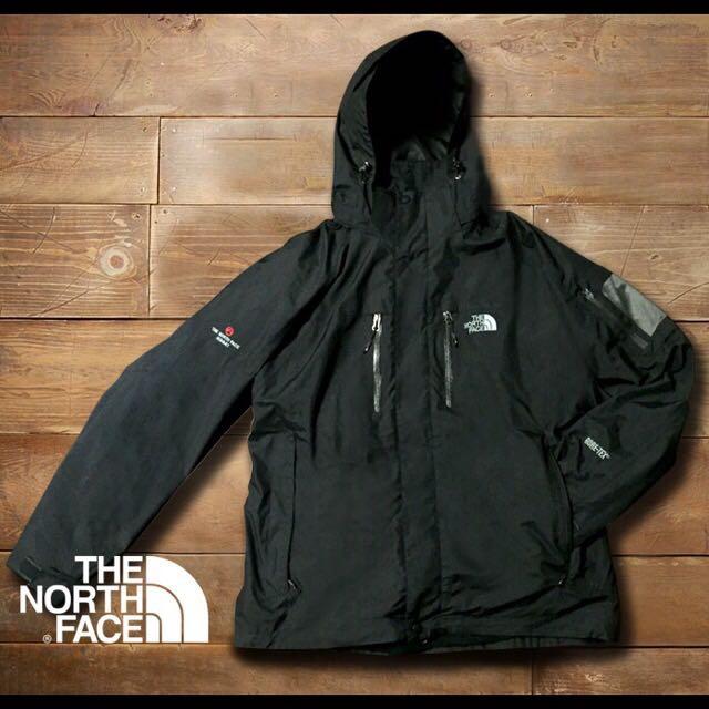 男生款 The North Face 北臉 兩件式保暖防風防水刷毛外套 3in1 Gore-Tex