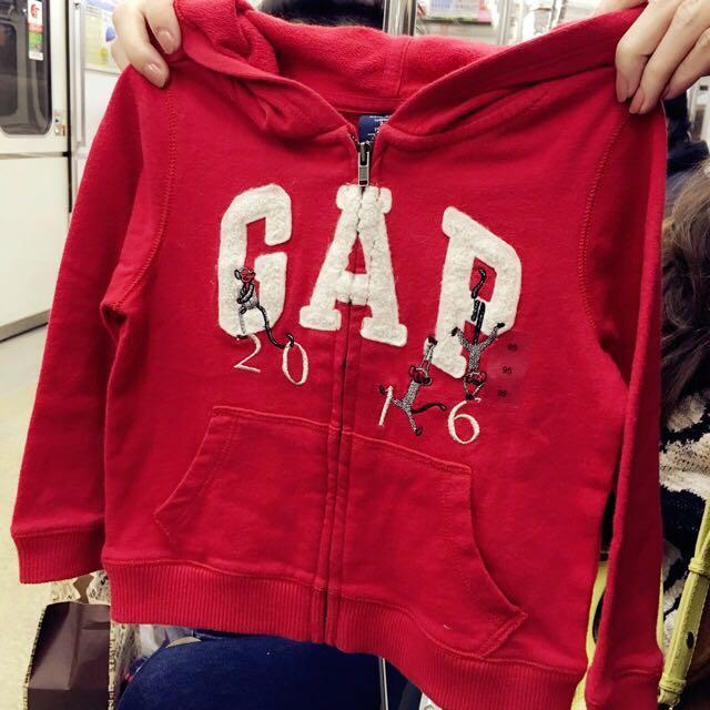 Baby GAP 2016年猴年限定款連帽外套