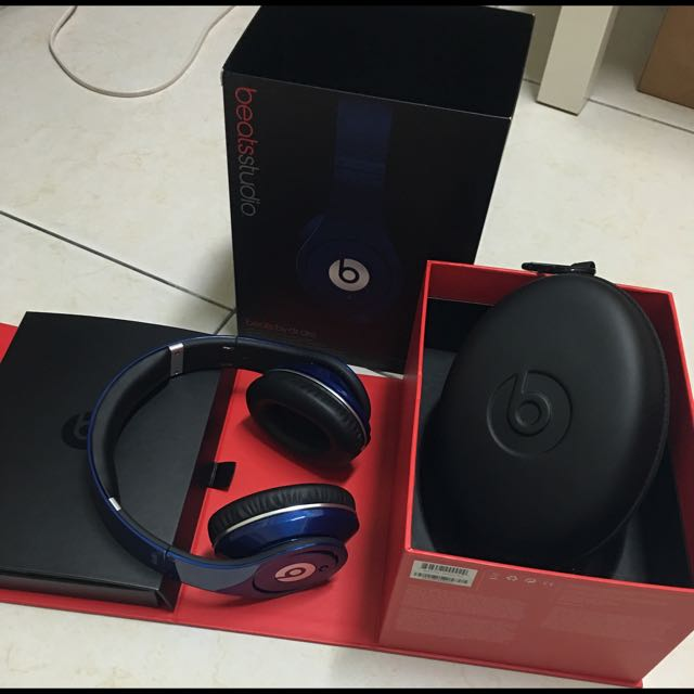 Beats by Dr. Dre Studio寶藍耳罩式耳機