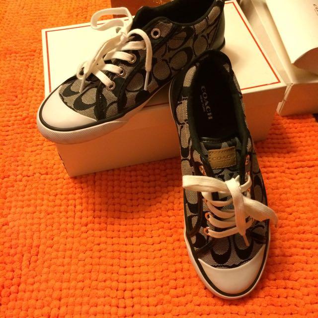 COACH忛布鞋
