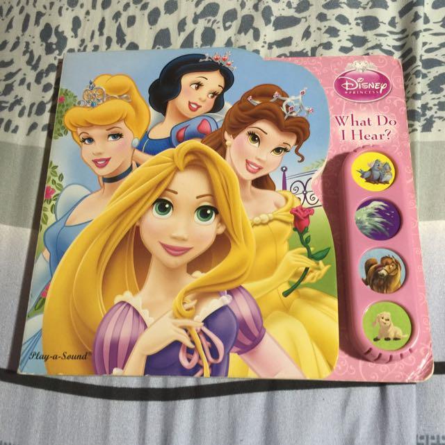 Disney - What Do I Hear? - Play-a-Sound Book