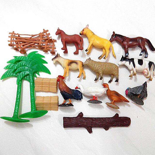 Farm Animals Toys, Toys & Games on Carousell