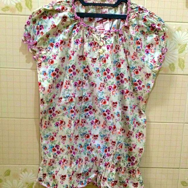 Flower Cotton Top