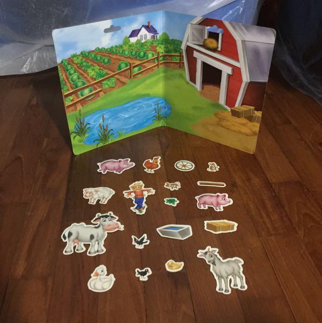 Fun on the Farm Magnets