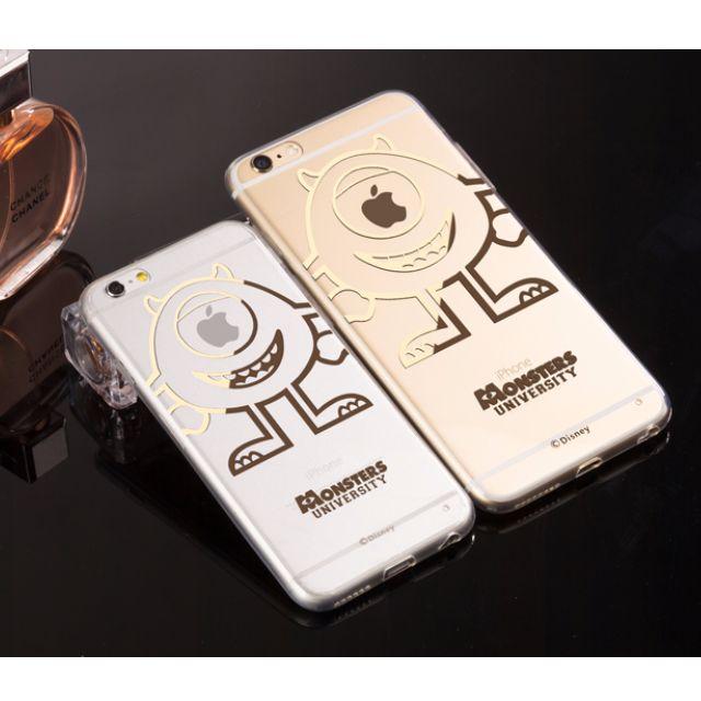 迪士尼電鍍透明iphone手機殼(多款)