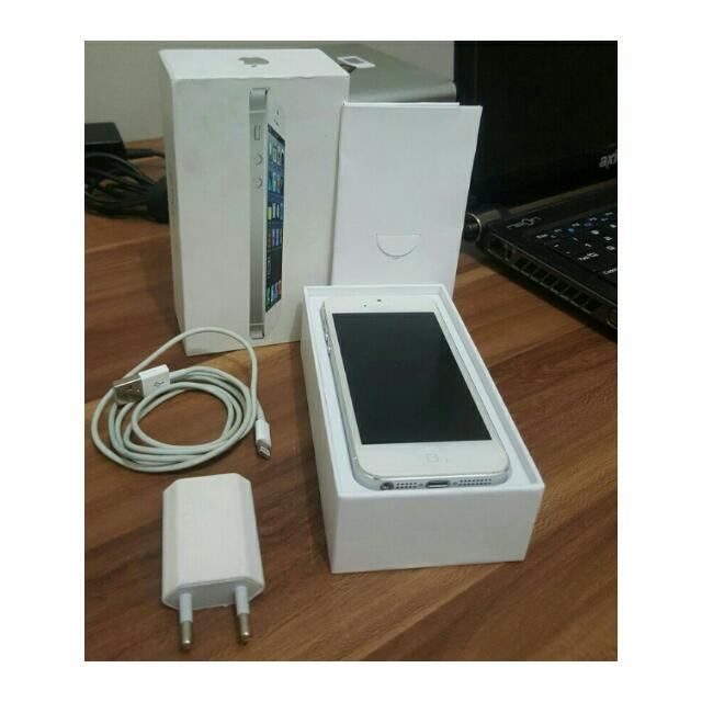 Iphone 5 16GB White Fullset