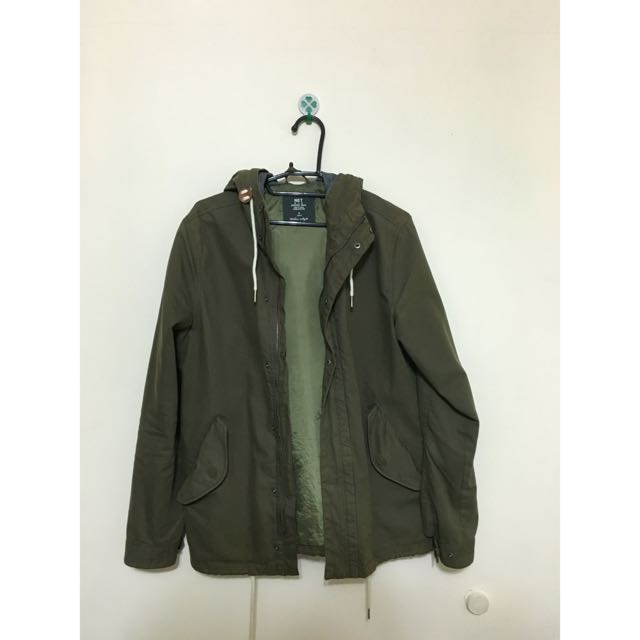 Net軍綠外套