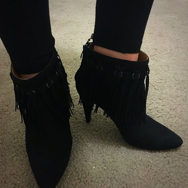 Nine West Fringe Boots