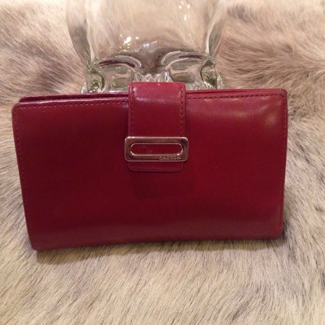 Oroton Dark Red Wallet