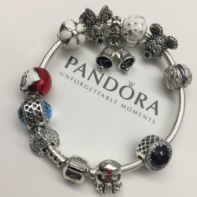 Pandora 串飾(迪士尼、聖誕節系列)