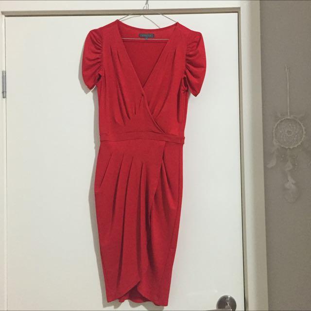 Sheike Dress (knee Length)