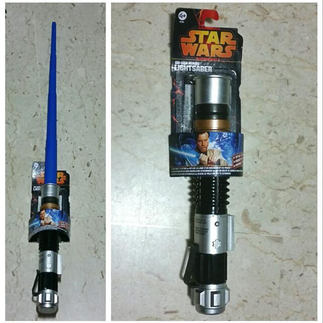 STAR WARS Extendable Obi Wan Lightsaber