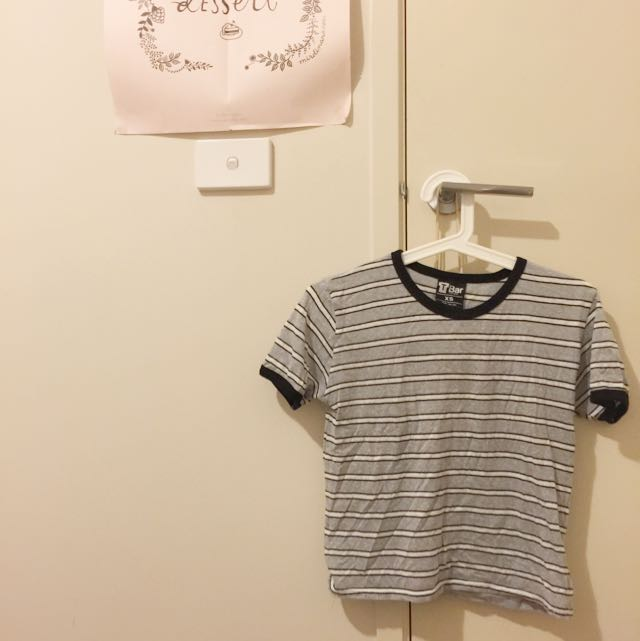 T-Bar Cropped Tee