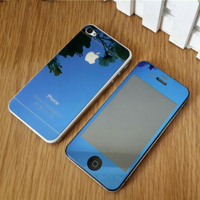 Tempered Mirror Glass For Iphone