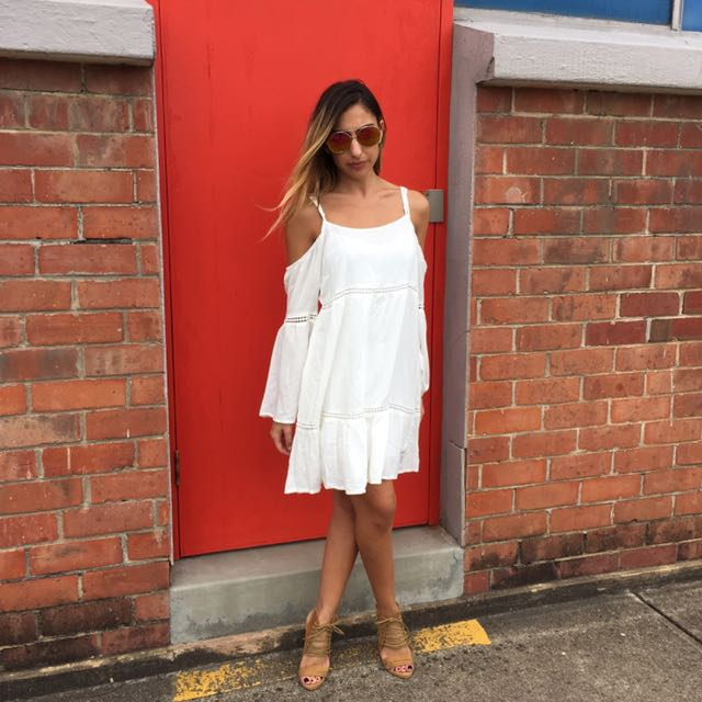 White 'Callie Dress'