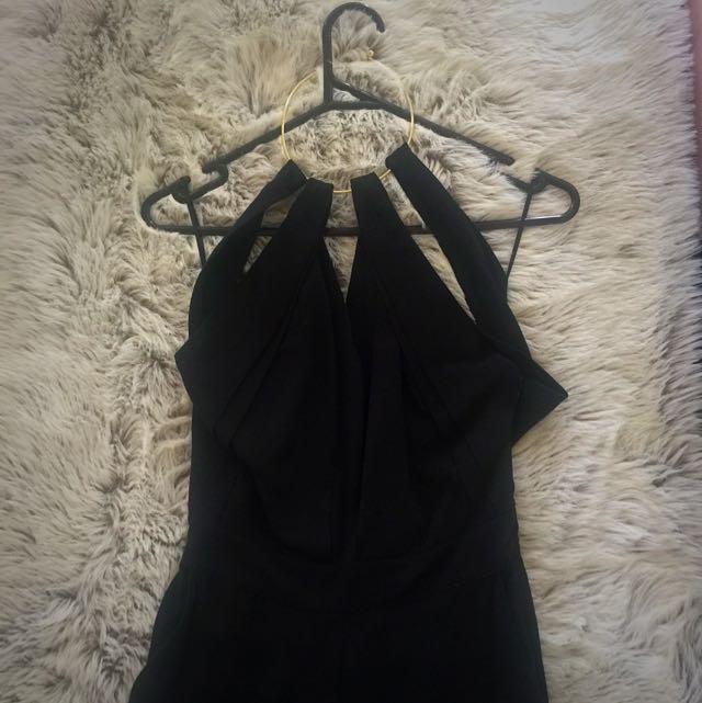 Witchery Black (full Length) Jumpsuit