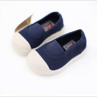 韓國軟底帆布童鞋 鬆緊帶 全新 學步鞋/帆布鞋 幼兒 童鞋