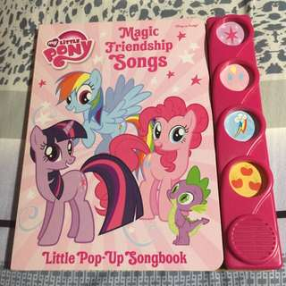 My Little Pony - Magic Friendship Songs - Little Pop-Up Songbook