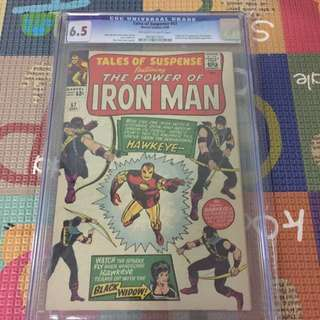 Tales Of Suspense 57 Cgc 6.5 ( 1st Hawkeye !!) Movie!