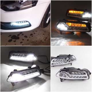 New VW Polo 3 in 1 Full LED Fog + DRL + Signal
