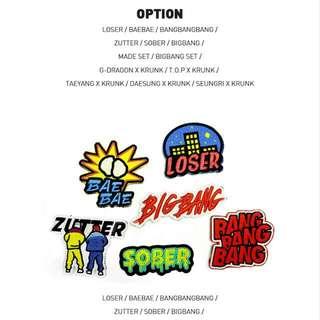 (已售誤下)BIGBANG MADE TOUR IN SEOUL 徽章
