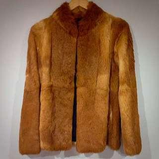 100% Rabbit Fur Jacket