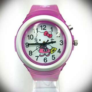 Hello Kitty LED Blink Watch