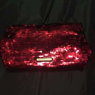 Pre Loved Victoria Secret Pink Cosmetic Bag