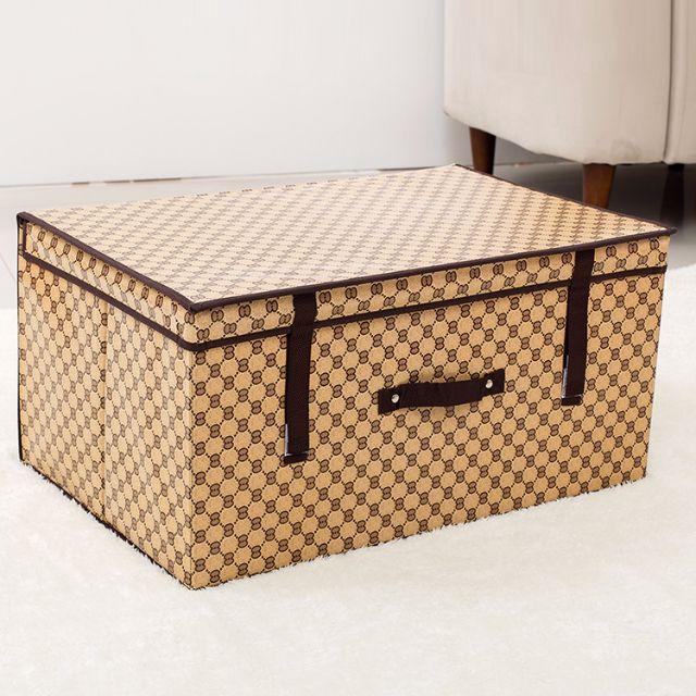 ... 120L GUCCI Burberry Print Storage Boxes Big Storage Box Foldable High  Quality Foldable Storage Box Fast ...