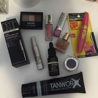 Make Up And Skin Care Bundle