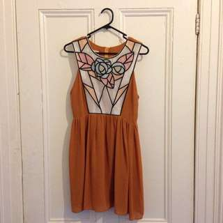 Stained Glass Dress Size 8