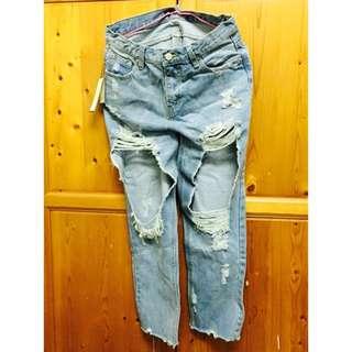 (全新)牛仔褲(尺寸L)