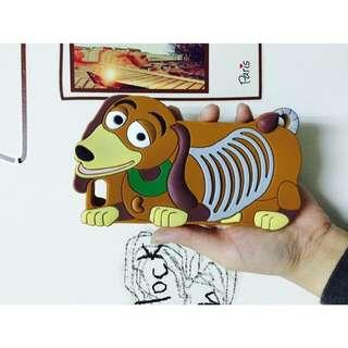 Iphone6 彈簧狗手機殼