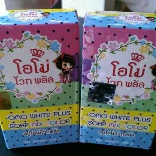 現貨 泰國帶回 神奇美白水果彩虹皂