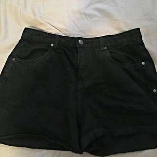 FACTORIES Black Shorts 🌹 Size 12