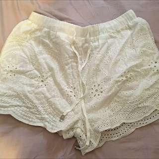Lace Shorts 🌹 Size 12
