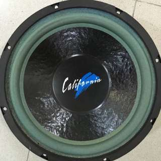 "California 12"" Woofer"