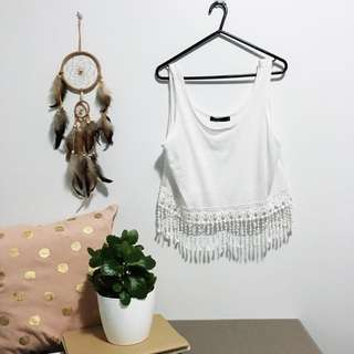 🌿 Crochet Tribal Style Vest