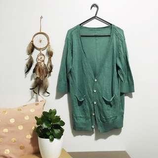 🌿 Turquoise / Green Jacket