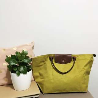 🌿 LONGCHAMP Large Tote Bag