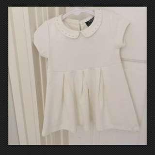 White Bardot Jnr Dress