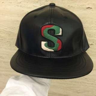 簡約設計款皮質棒球帽