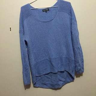 Blue Woollen top- 8