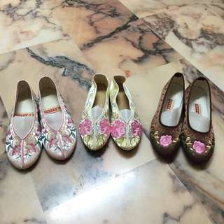 Embroidery Oriental Shoes