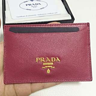 Authentic Prada Cardholder