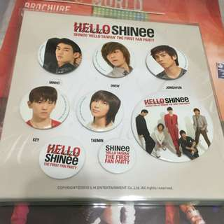 SHINee THE 1ST CONCERT別針組