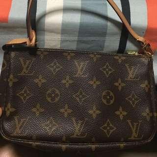 LV Monogram clutch bag