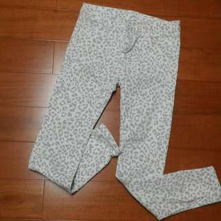 乳白豹紋褲(正韓)