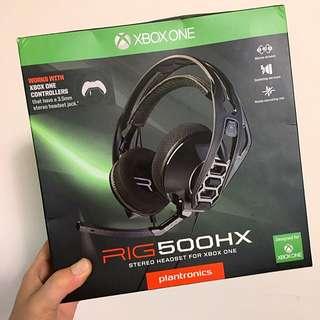 Plantronics 電玩用耳機 RIG500 HX 全新 正品